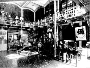 Физическая лаборатория Харьковского технологического института (фото начала ХХ века)