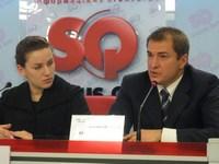 Леся Оробец и Андрей Белогрищенко