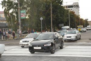 Обновленный переезд на проспекте Гагарина