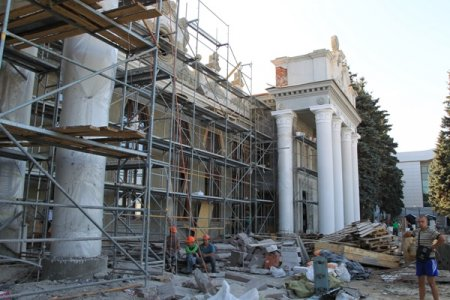 Реконструкция терминала МА «Харьков» в фотографиях