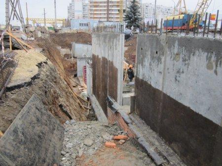 Фото-факт: ход строительства станции метро «Победа»