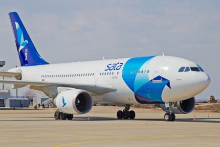 Харьковский аэропорт принял самый тяжелый самолет