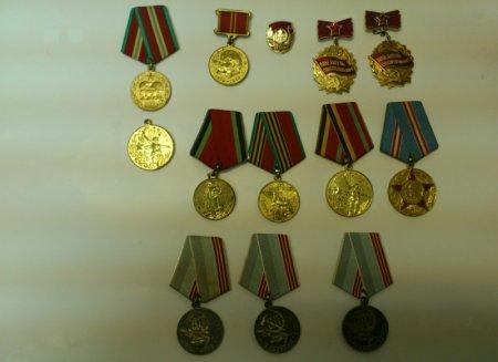 Харьковские пограничники изъяли награды СССР (ФОТО)