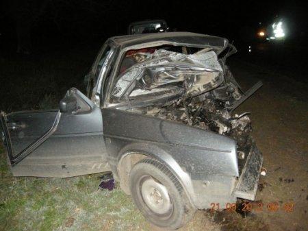 На Харьковщине разбились 3 человека: один из водителей выскочил на встречную (ФОТО)