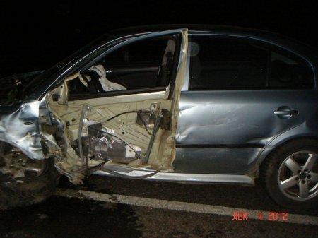 Под Харьковом столкнулись 4 автомобиля. Есть пострадавшие (ФОТО)