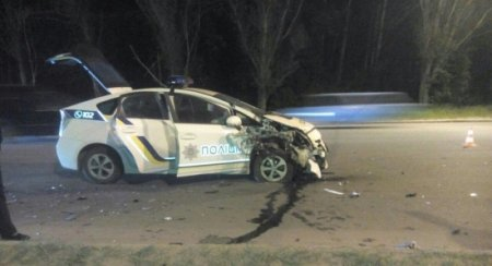 Полицейские в Харькове попали в масштабное ДТП