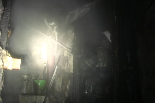 Пожар вмногоэтажке вХарькове: умер пенсионер, 12 человек эвакуировали