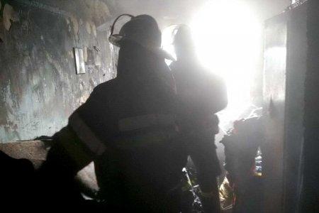 На Основе горела многоэтажка (фото)