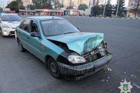 На Алексеевке запредельно пьяный водитель устроил ДТП