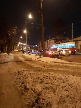 На Гольдберговской столкнулись машины, есть пострадавшие